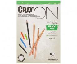 Bloc Dibujo Cray'on A4 160gr