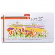 Bruynzeel Caja 72 lápices de colores Expression
