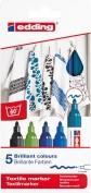 Edding 4500 Marcador Textil Caja 5 colores - 099