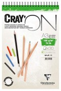 Clairefontaine 975032C Bloc  Cray'on  A3 30 hojas 160 g