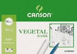 Bloc Papel Vegetal A3+ Canson 50 hojas