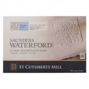 Saunders Waterford Bloc acuarela Grano Fino 300 gr 31x23 cm