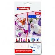 Rotuladores para Ceramica Edding Caja 6 colores Col 999