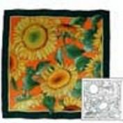 Gutta collection 100% seda Soleil 90x90 cm