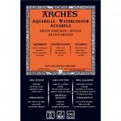 ARCHES Bloc acuarela Grano Grueso A4 300 gr