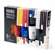 Liquitex Basics Caja 5 tubos118 ml