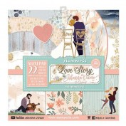Stamperia Johanna Rivero Love Story Maxi Pad SBBXLB07