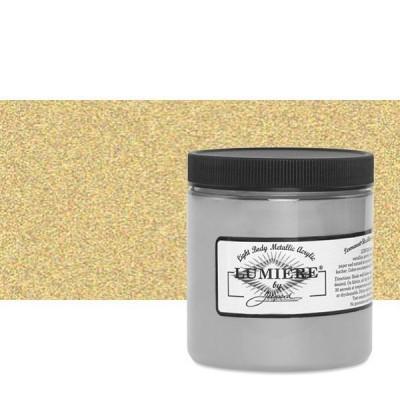 JACQUARD LUMIÈRE METALLIC GOLD