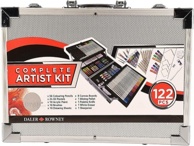 Daler Rowney Complete Artist Kit 122 piezas