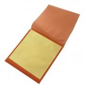 Pan de oro imitación Libro 25 hojas 14x14 cm