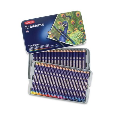 DERWENT INKTENSE Caja 72 lápices de color