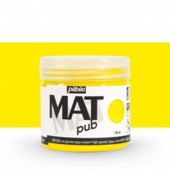 Pintura acrílica Mat Pub Pébéo Amarillo primario 02