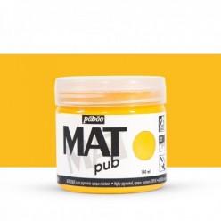 Pintura acrílica Mat Pub Pébéo Amarillo dorado 03