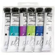 Pébéo Studio Acrilicos Dyna Set 6 tubos 20 ml