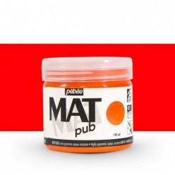Pintura acrílica Mat Pub Pébéo Rojo Vermellón 05