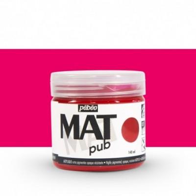 Pintura acrílica Mat Pub Pébéo Rojo magenta 06