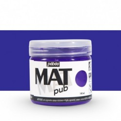 Pintura acrílica Mat Pub Pébéo Violeta cobalto 09