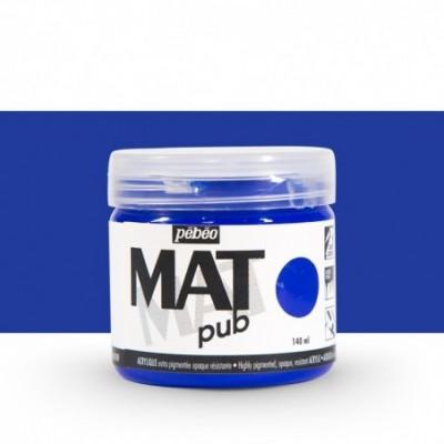 Pintura acrílica Mat Pub Pébéo Azul ultramar 10