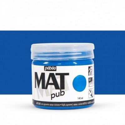 Pintura acrílica Mat Pub Pébéo Azul cobalto 11