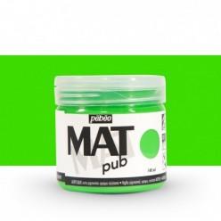 Pintura acrílica Mat Pub Pébéo Verde luminoso 015