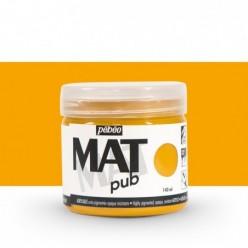 Pintura acrílica Mat Pub Pébéo Amarillo ocre 18