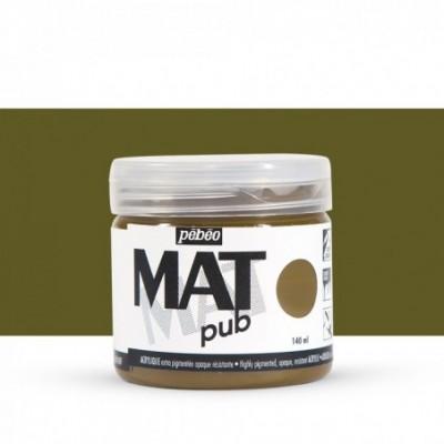 Pintura acrílica Mat Pub Pébéo Sombra natural 21
