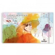Cuaderno de viaje Canson 15x25 cm