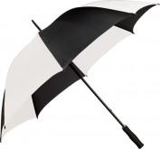 Paragüas Golf blanco-negro con doble varilla 193.36
