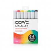 Set Copic Sketch Vibrant Tones Edición Limitada 6+1