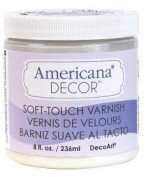 Pintura Americana Chalk Barniz Soft Touch ADM03 236 ml