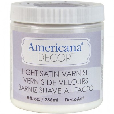 Pintura Americana Chalk Decor Barniz con Satinado ligero ADM05 236 ml
