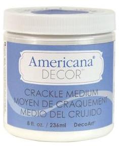 Pintura Chalk Americana Medium Craquelador ADM08 236 ml