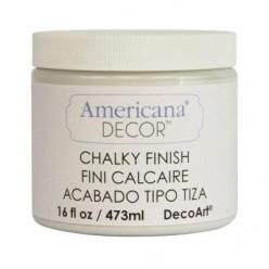 Americana Chalk Paint Pintura tiza 473 ml Blanco