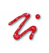 Pintura para Tela Fashion Plaid Pintura con Relieve - Rojo