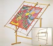 Bastidor Madera Giratorio para Seda 105 x  105 cm