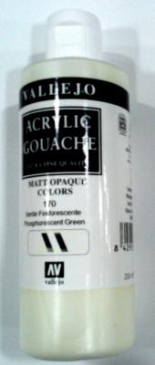 Vallejo Fosforescente Acrylic Gouache ref170 200ml