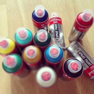 Amsterdam Spray Paint Profesional - Gris Neutro