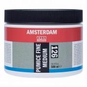 Gel medium Amsterdam 127 Texturado Piedra Pomez Mediana 500 ml