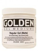Golden Gel Medium Regular Gel Mate 237ml