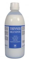 Diluyente para pinturas acrílicas y acuarelas Vallejo 28524 500 ml