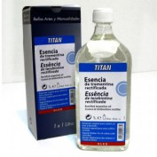 Esencia Trementina Titan 1000 ml