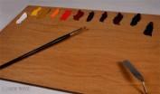 Paleta de sobremesa  New Wave Posh Grande madera 30x40 cm NW501