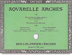 Arches Bloc Acuarela Arches 18x26cm 177164 IP