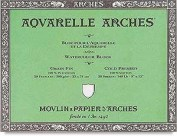 Arches Bloc Acuarela Arches 31x41cm 177170 IP