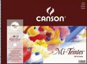 Bloc Canson Pastel Mi-Teintes blanco de 160gr A4 Ref. 400030148