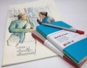 Hahnemuhle Sketch & Note 10628881 A5 Azul y Menta