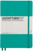 Bloc Leuchtturm Medium Note Book Con Puntos A5 - Azul Anciano