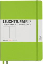 Bloc Leuchtturm Medium Note Book Con Puntos A5 - Verde Limón