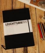 Bloc Leuchtturm1917 Pocket Hojas Con Puntos A6 Color Negro