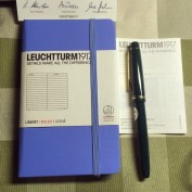 Bloc Leuchtturm1917 Pocket Fondo Lineas Horizontales A6
